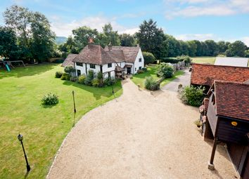 Thumbnail 5 bed detached house for sale in Vicarage Lane, Wraysbury, Staines