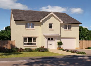 "Thumbnail 4 bed detached house for sale in ""Fenton"" at Foxglove Grove, Cambuslang, Glasgow"