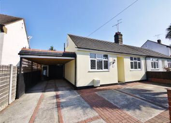 Thumbnail 2 bed bungalow for sale in King Georges Road, Pilgrims Hatch, Brentwood, Essex