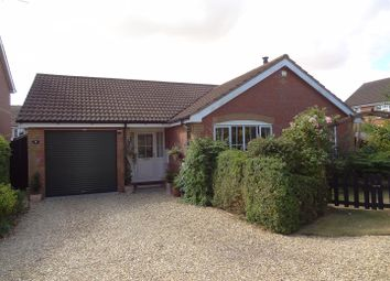 Thumbnail 3 bed detached bungalow for sale in Anglia Close, Quarrington, Sleaford