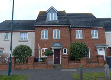 Thumbnail 3 bedroom terraced house to rent in Hargate Way, Hampton Hargate, Peterborough, Cambridgeshire.