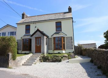Thumbnail 4 bed detached house for sale in Church Road, St. Dennis, St. Austell