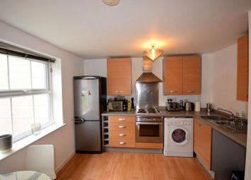 Thumbnail 2 bed flat for sale in Badgerdale Way, Heatherton Village, Derby
