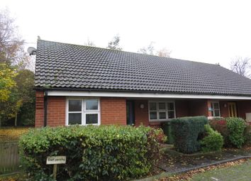 Thumbnail 2 bed semi-detached bungalow for sale in Milestone Lane, Wicklewood, Wymondham