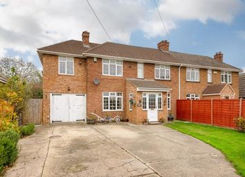 Thumbnail 5 bed semi-detached house for sale in School Lane, Roxton, Bedford, Bedfordshire