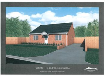 Thumbnail 3 bed detached bungalow for sale in Marriotts Drove, Ramsey Mereside, Huntingdon