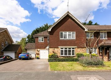 Thumbnail 4 bedroom end terrace house to rent in Turpins Rise, Windlesham