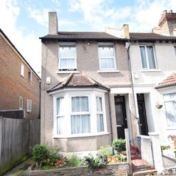 Thumbnail 3 bed end terrace house for sale in Abbey Road, Croydon
