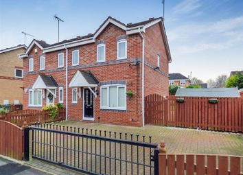 Thumbnail 3 bed semi-detached house to rent in Tennyson Way, Pontefract
