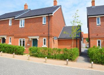 Thumbnail 3 bedroom semi-detached house for sale in Quicksilver Crescent, Andover Down, Andover