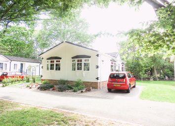 Thumbnail 2 bed detached bungalow for sale in Halcyon Caravan Park, Pooles Lane, Hullbridge, Hockley