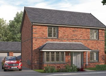 "Thumbnail 5 bed detached house for sale in ""The Amersham"" at Etwall Road, Mickleover, Derby"