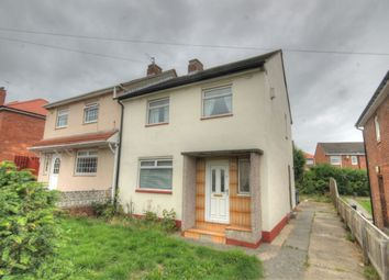 Thumbnail 3 bed semi-detached house for sale in Ravenshill Road, West Denton, Newcastle Upon Tyne