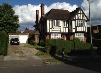 Thumbnail 1 bed maisonette to rent in Ossulton Way, Hampstead Garden Suburb
