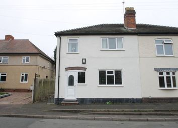 Thumbnail 3 bed semi-detached house for sale in Brook Avenue, Wilnecote, Tamworth