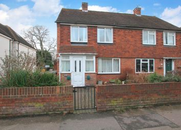 Thumbnail 2 bed semi-detached house for sale in High Street, Sturry, Canterbury