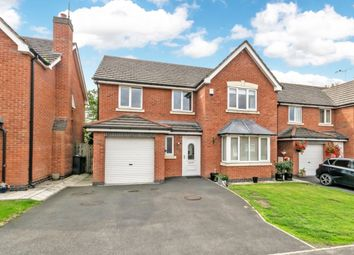 Thumbnail 4 bed detached house for sale in Meadowside, Frodsham