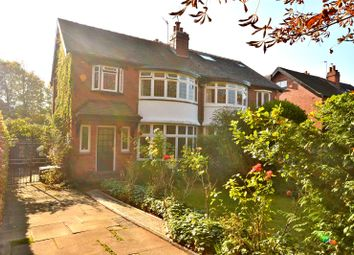 Thumbnail 3 bed semi-detached house for sale in Davies Avenue, Roundhay, Leeds