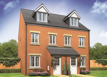 "Thumbnail 3 bedroom town house for sale in ""The Souter"" at John Street Way, Wombwell, Barnsley"