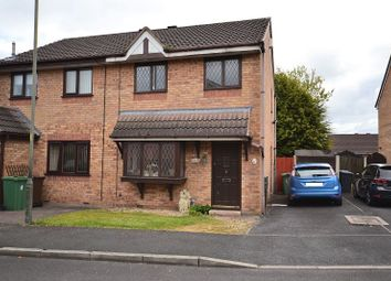 Thumbnail 3 bed semi-detached house for sale in Minstrel Close, Abram, Wigan