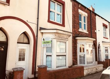Thumbnail 4 bed terraced house for sale in Burbank Street, Hartlepool
