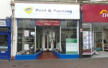 73A High Street, Ashford, Kent TN24. Retail premises to let