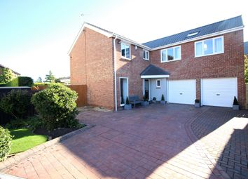 Thumbnail 4 bedroom detached house for sale in Elstree Gardens, Blyth