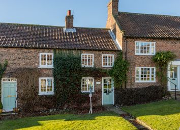 Thumbnail 2 bed end terrace house for sale in Church Hill, Crayke, York