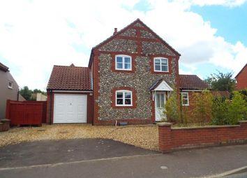 Thumbnail 3 bedroom detached house for sale in Great Ryburgh, Fakenham, Norfolk