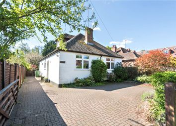 Thumbnail 4 bed detached bungalow for sale in Leslie Road, Chobham, Woking, Surrey