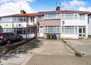 Thumbnail 3 bed terraced house for sale in Lawrence Crescent, Edgware