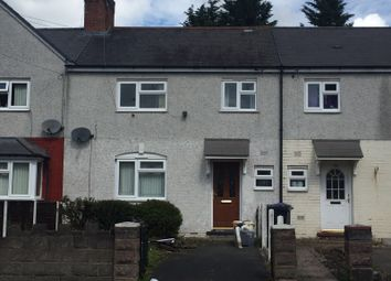 Thumbnail 3 bedroom terraced house to rent in Powis Avenue, Tipton, West Midlands