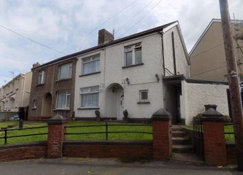 Thumbnail 3 bed semi-detached house to rent in Goytre Crescent, Goytre, Port Talbot