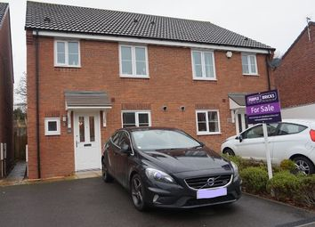 Thumbnail 3 bed semi-detached house for sale in Jefferson Way, Coventry