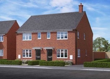 "Thumbnail 3 bed property for sale in ""The Meadowsweet"" at Cheadle Shopping Centre, Cheadle, Stoke-On-Trent"