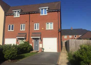 Thumbnail 3 bedroom town house for sale in Garner Drive, St. Ives, Huntingdon