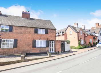 Thumbnail 2 bed end terrace house for sale in Dean Street, Brewood, Stafford