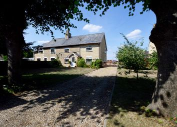 Thumbnail 4 bed semi-detached house for sale in Glinton Road, Helpston, Peterborough