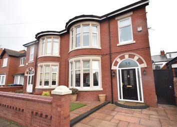 Thumbnail 3 bed semi-detached house to rent in Longton Road, Blackpool, Lancashire
