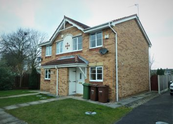 Thumbnail 2 bed semi-detached house to rent in Oakmont Close, Normanton