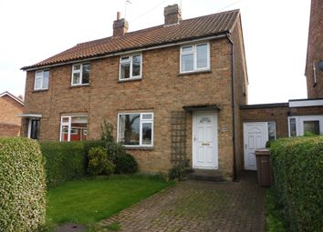 Thumbnail 2 bed semi-detached house for sale in Hill Crest, Beverley