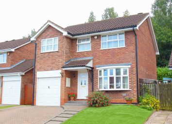 Thumbnail 4 bed detached house for sale in Rosehall Close, Oakenshaw, Redditch, Worcestershire