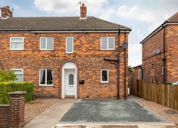 Thumbnail 3 bed semi-detached house for sale in St. Leonards Avenue, Osgodby, Selby