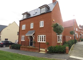 Thumbnail 4 bed detached house for sale in Foxhills Way, Brackley
