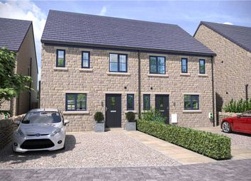 Thumbnail 3 bed semi-detached house for sale in Sapgate Lane, Thornton, West Yorkshire