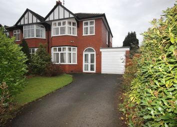 Thumbnail 3 bed semi-detached house for sale in Meadow Lane, Worsley, Manchester