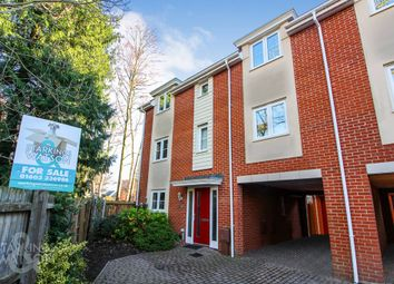 Thumbnail 4 bed town house for sale in Silvo Road, Queens Hill, Costessey, Norwich