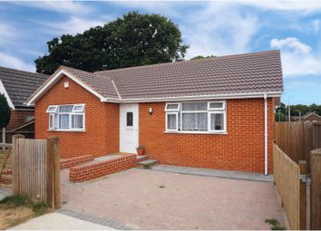 Thumbnail 2 bed detached bungalow for sale in Sharon Crescent, Chatham