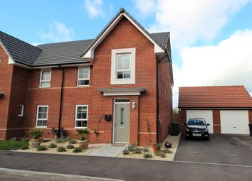 Thumbnail 4 bed semi-detached house for sale in Gilhespy Way, Westbury