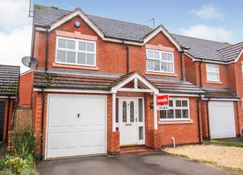 Thumbnail 4 bed detached house for sale in Millennium Way, Wolston, Coventry